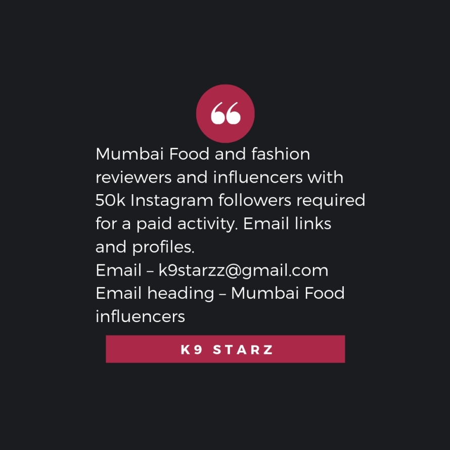 Mumbai TV actors and models – get featured as editorial content on websites. Increase your brand value. Email – k9starzz@gmail.com Email heading – Publicity (5).jpg