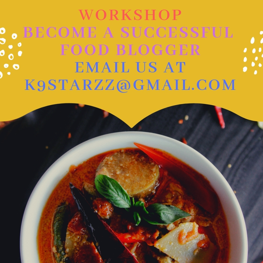 workshop become a successful food blogger